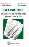 Geometrie exercitii si probleme pentru clasa a X-a - Nicolae Dragomir, Carmen Dragomir, Tudor Deaconu, Doru Savulescu