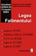 Legea falimentului - Culegeri de acte normative