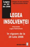 Legea insolventei - Culegere de acte normative