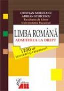 Limba Romana  -  Admiterea la drept - Cristian Moroianu, Adrian Stoicescu