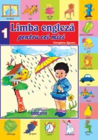 Limba engleza pentru cei mici nr.1 - Georgiana Lupescu