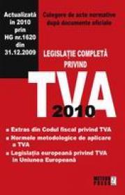 TVA 2010 - Culegere de acte normative