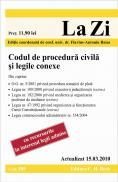 Codul de procedura civila si legile conexe. Actualizat la 15.03.2010. Cod 385 - Editie coordonata de conf. univ. dr. Flavius-Antoniu Baias