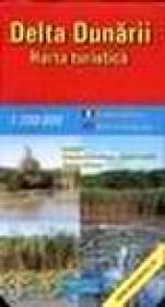Delta Dunarii - harta turistica -