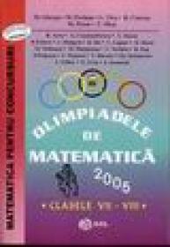 Olimpiada de matematica clasele VII - VIII - M.ghergu, M. Perianu. G. Tica, R. Ciurcea, M. Persu, T. Micu