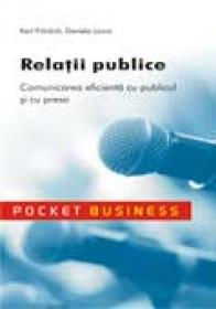 Relatii publice - Karl Fronlich, Daniela Lovric