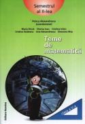 Teme de matematica. Clasa a V-a, semestrul al II-lea - Petrus Alexandrescu (coord.)