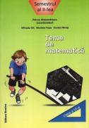 Teme de matematica. Clasa a VI-a, semestrul al II-lea - Petrus Alexandrescu (coord.)