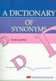 A Dictionary Of Synonyms - SLAPAC Alina