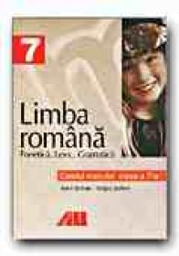 Caietul Elevului. Fonetica, Lexic si Gramatica. Limba Romana Clasa Vii-a - SERBAN Anca, SERBAN Sergiu