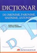 Dictionar De Omonime, Paronime, Sinonime, Antonime - CRETA Zorela, GHERMAN Cristina