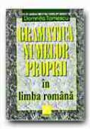 Gramatica Numelor Proprii In Limba Romana - TOMESCU Domnita