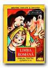 Limba Romana. Manual Pentru Clasa A Vi-a - VASILESCU Andra, ROGOJINARU Adela, VASILESCU Mircea
