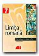 Limba Romana. Manual Pentru Clasa A Vii-a - VASILESCU Andra