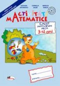 Activitati Matematice - Grupa Mica 3-4 Ani  - Stefania Antonovici, Cornelia Jalba, Mariuta Vasiliu