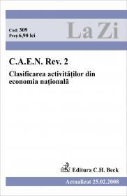 C.a.e.n. Rev. 2. Clasificarea Activitatilor Din Economia Nationala (actualizat La 25.02.2008). Cod 309 - ***