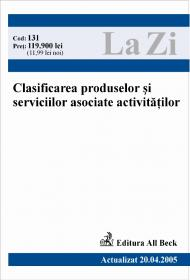 C.p.s.a. Clasificarea Produselor si Serviciilor Asociate Activitatilor (actualizat La 20.04.2005). Cod 131 - Institutul National de Statistica