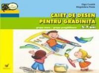 Caiet De Desen Pentru Gradinita.grupa Mare/grupa Pregatitoare 5-7 Ani - Coanta Olga, Preda Magdalena