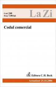 Codul Comercial (actualizat La 25.10.2006). Cod 240 - ***