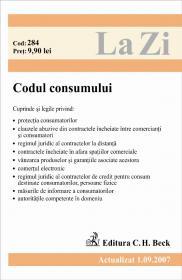 Codul Consumului, Cod 284 (actualizat La 1.09.2007) - ***
