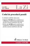 Codul De Procedura Penala (actualizat 10.09.2006). Cod 233 - ***