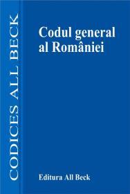 Codul General Al Romaniei, Editia A Ii-a - ***