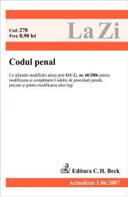 Codul Penal (actualizat La 01.06.2007). Cod 278 - ***
