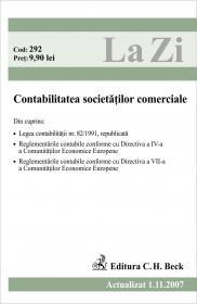 Contabilitatea Societatilor Comerciale. (actualizat La 01.11.2007). Cod 292 - ***