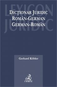 Dictionar Juridic Roman - German, German - Roman - Koebler Gerhard
