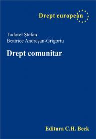 Drept Comunitar - Andresan-Grigoriu Beatrice, Stefan Tudorel
