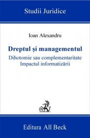 Dreptul si Managementul - Alexandru Ioan