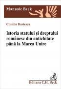 Istoria Statului si Dreptului Romanesc Din Antichitate si Pana La Marea Unire - Dariescu Cosmin
