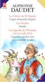 La Chevre De M. Seguin/capra Domnului Seguin// Les Etoiles/stelele//la Legende De L'homme A La Cervelle D'or/legenda Omului Care Avea Creierul De Aur - Daudet Alphonse