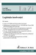 Legislatia Insolventei. Cod 303 (actualizat La 01.02.2008) - ***