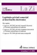 Legislatia Privind Comertul si Inscrisurile Electronice (actualizat La 01.12.2004). Cod 88 - ***