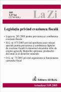 Legislatia Privind Evaziunea Fiscala (actualizat La 05.09.2005). Cod 165 - ***