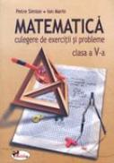 Matematica. Culegere De Exercitii si Probleme - Clasa A V-a  - Petre Simion, Ion Marin