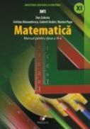 Matematica. Manual Pentru Clasa A Xi-a  - Popa Marian, Andrei Gabriel, Alexandrescu Cristian, Zaharia Dan