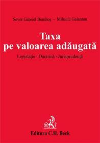 Taxa Pe Valoarea Adaugata - Bombos Sever Gabriel, Galanton Mihaela