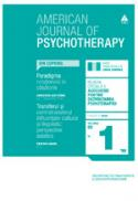 American Journal of Psychotherapy nr. 1 / 2009 - Publicatie trimestriala