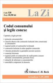 Codul consumului si legile conexe (actualizat la 05.09.2008). Cod 328 - Paul Stewart, Chriss Riddell