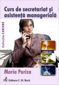 Curs de secretariat si asistenta manageriala - Pariza Maria