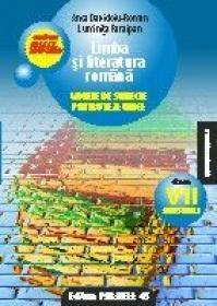 LIMBA SI LITERATURA ROMANA. MODELE DE SUBIECTE PENTRU TEZA UNICA. CLASA A VII-A. SEMESTRUL I. CONFORM M.Ed.C.T 2008-2009 - DAVIDOIU-ROMAN, ANCA ; PARAIPAN, Luminita