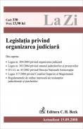 Legislatia privind organizarea judiciara (actualizat la 15.09.2008) - Paul Stewart, Chriss Riddell