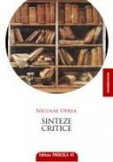 SINTEZE CRITICE - OPREA, Nicolae