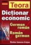Dictionar economic german-roman, roman-german - Nicolae Ionescu Crutan