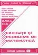Exercitii si probleme de matematica pentru clasa a X-a - Danut Dracea, Liliana Niculescu, Dan Seclaman, Ion Patrascu, Mihaela Motateanu