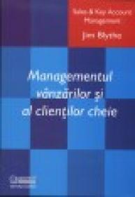Managementul vanzarilor si al clientilor cheie - Jym Blythe