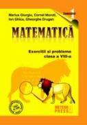 Matematica - clasa a VIII-a, semestrul I 2009-2010 - Marius Giurgiu, Cornel Moroti, Ion Ghica, Gheorghe Drugan