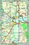 Romania - atlas rutier (scara 1:500.000, Index localitati) -